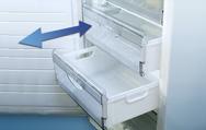 Выдвижная пластиковая корзина морозильной камеры
